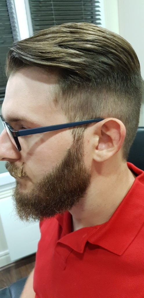 Complet homme coupe + barbe